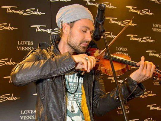 Tom Sabo Shoperöffnung in Wien: David Garrett als Stargast