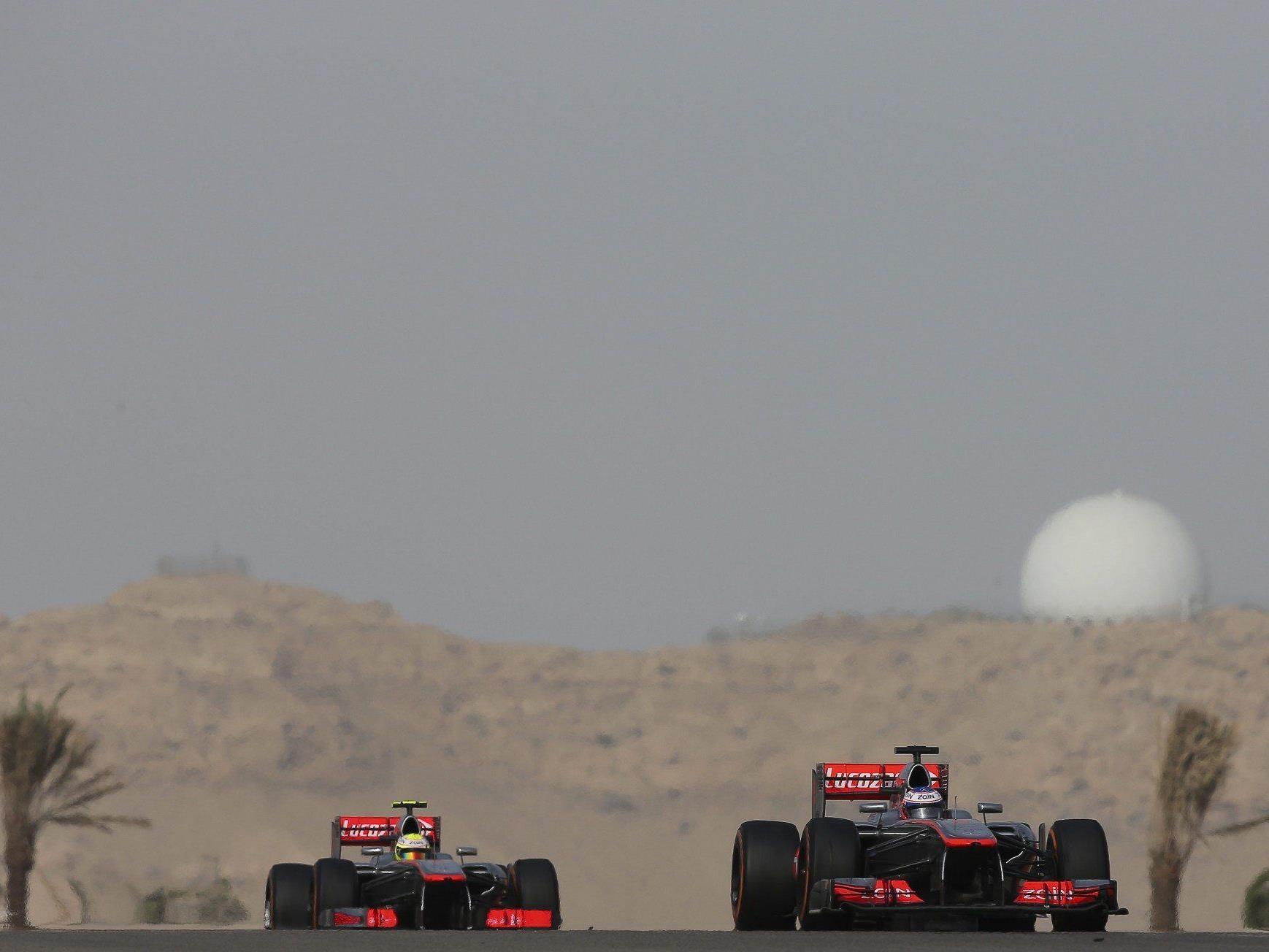 """Button nach Bahrain-GP auf Perez sauer: """"Bald passiert einmal was Ernstes."""""""
