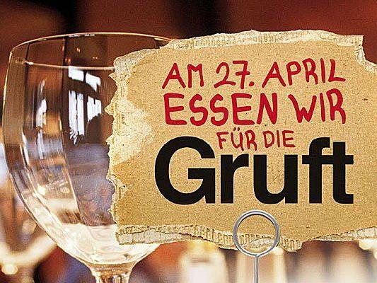 """An der Aktion """"Essen für die Gruft"""" nehmen über 200 Wiener Lokale teil"""