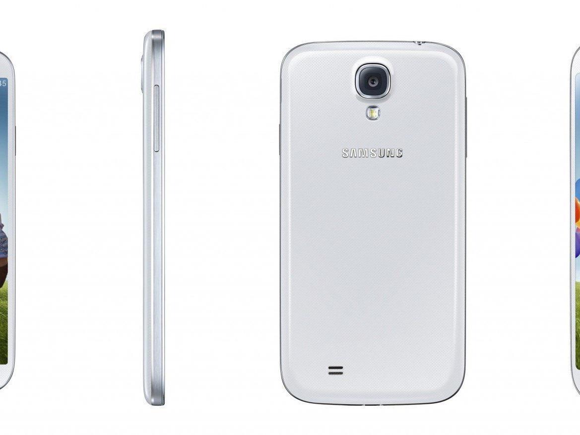 Das Samsung Galaxy S4 ist erhältlich