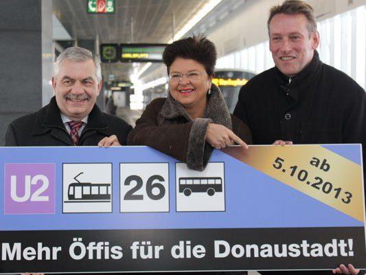 U2 fährt ab 5. Oktober zum ehemaligen Wiener Flugfeld Aspern