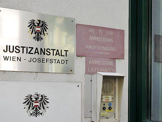 In der Justizanstalt Josefstadt kam es zu einem Selbstmord