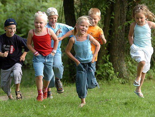 Kinder lieben es, zu laufen - die ideale Voraussetzung für den Coca Cola Run