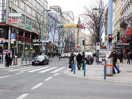 """Auf der Mariahilfer Straße wird sich vieles ändern - einen Eindruck bekommt man durch den """"Proberaum"""""""