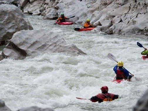 Ab dem 26. April 2013 kann man im Wildwasserzentrum Wildalpen wieder mit dem Kajak fahren.