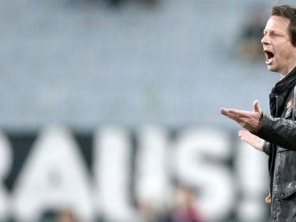Der Bitte der Fans wurde nachgegeben: Peter Schöttel ist mehr Rapid Trainer