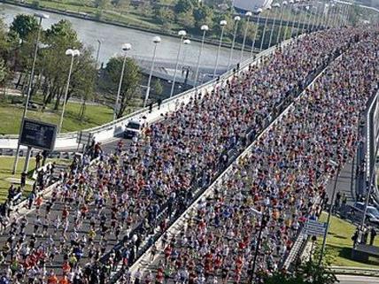 Über 41.300 Personen nehmen heuer am Vienna City Marathon teil