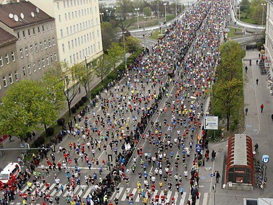 Für den Vienna City Marathon werden zahlreiche Straßen gesperrt - Autofahrer müssen ausweichen