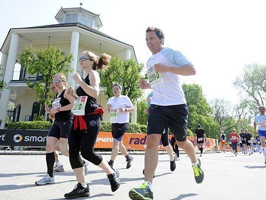 Laufen, wo es grünt und blüht, macht Freude - doch beim Vienna City Marathon droht Pollen-Alarm