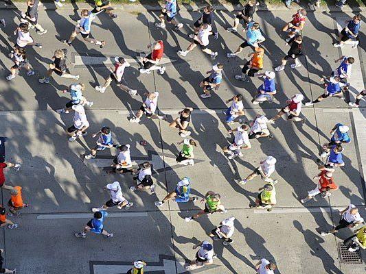 Beim Vienna City Marathon winkt heuer strahlender Sonnenschein