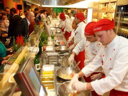 """Die Restaurantkette """"Vapiano"""" ist sehr erfolgreich - nun kommt die bisher größte Filiale"""