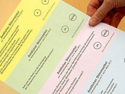 Am Donnerstag ist die Volksbefragung erneut Thema im Wiener Gemeinderat.