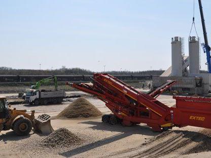 Am 2. Mai nimmt das Baulogistikzentrum seine Arbeit auf.