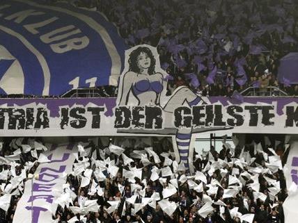 Die Wiener Austria hat wohl mehr Fans als man glauben möchte
