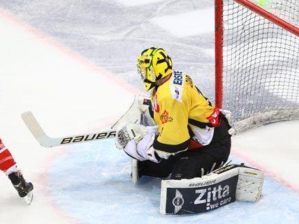 Die Vienna Capitals konnten gegen den KAC kein einziges Tor erzielen