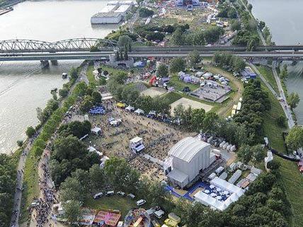 Vom 21. bis 23. Juni findet in Wien das 30. Donauinselfest statt.