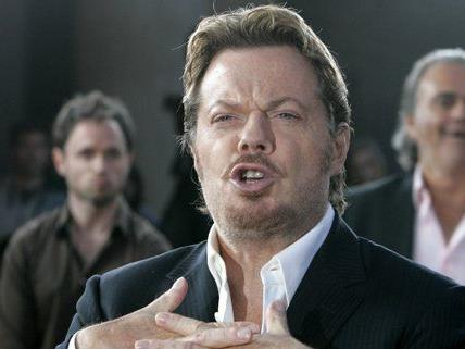 Schauspieler und Comedian Eddie Izzard ist im Wiener Gartenbaukino aufgetreten.