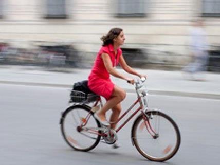 Dienstfahrräder kann man in Wien ab 1 Euro pro Tag mieten.