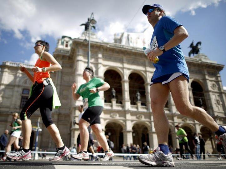 Gute Stimmung und Bestzeiten am Vienna City Marathon 2013.