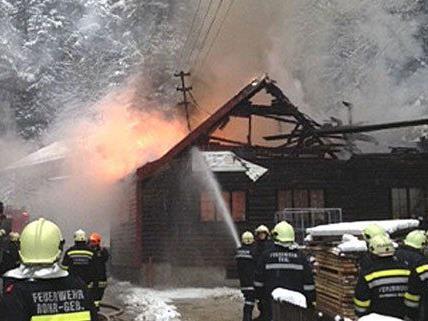 In Niederösterreich ist es am Mittwoch zu einem Großbrand gekommen.