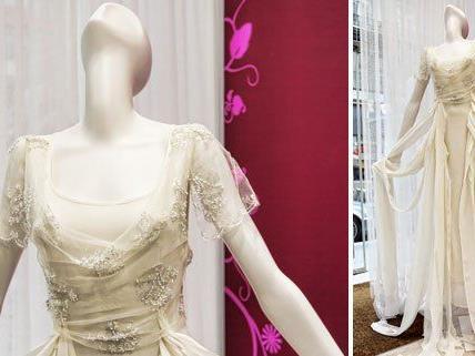 Einzelstück: Brautkleid von Richard Rozbora-Couture.