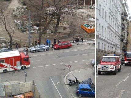 Bilder vom Einsatzort: Brand in Wien-Leopoldstadt am Freitag.