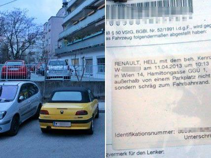 In Wien-Penzing werden Falschparker seit April anscheinend vermehrt gestraft.