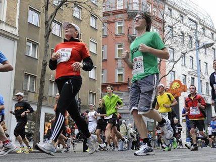 Heuer gibt es beim Vienna City Marathon einen neuen Melderekord.