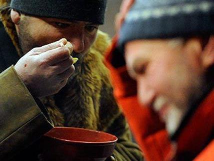 Hilfe für Wiens Obdachlose im Winter.