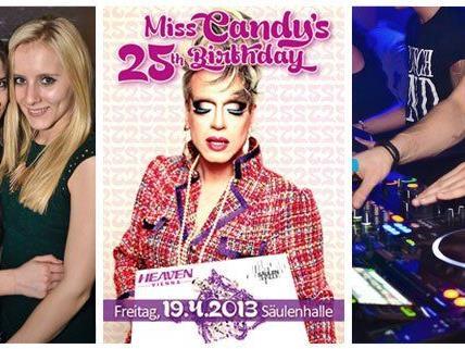 Neben Miss Candy's Geburtstag warten noch viele weitere Highlights auf das Partyvolk.