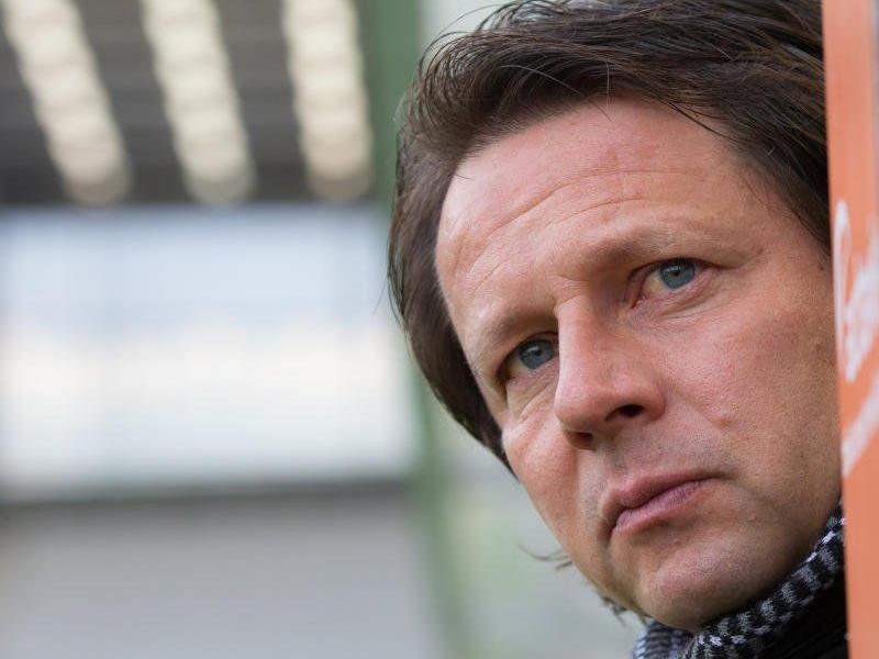 Rapid setzt weiter auf Trainer Peter Schöttel