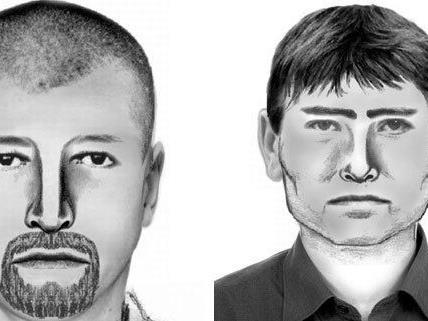Die Polizei bittet um Hinweise auf diese Männer.