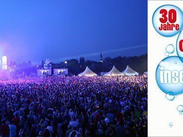 Das Programm für das 30. Donauinselfest in Wien, mit vielen großartigen Bands und Künstlern.