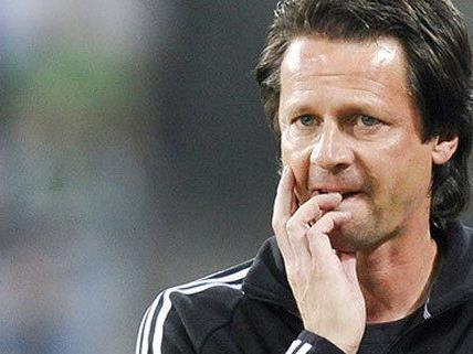 Rapid Trainer Peter Schöttel wurde nun doch entlassen.