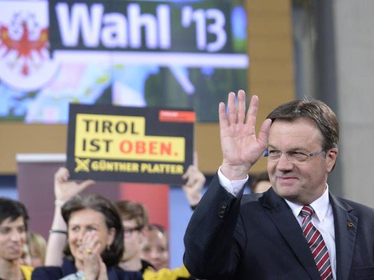 """Die ÖVP kann sich, ebenso wie die Liste """"vorwärts Tirol"""", über Zuwächse freuen."""