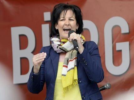 Andrea Haselwanter-Schneider (Liste Fritz) am Samstag in Innsbruck.