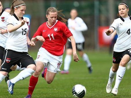 Österreichs Frauen-U-17-Team schaffte knapp nicht den EM-Einzug.