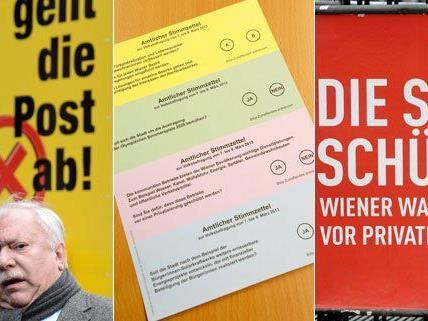 Eine weitere Beschwerde über die Wiener Volksbefragung wurde eingebracht.