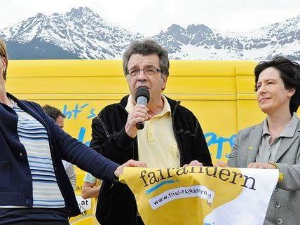 """Optimistisch gab sich die Liste """"vorwärts Tirol"""" am Freitag."""