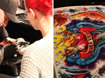 Das Wochenende rund um Tattoos und Körperschmuck: Die Wildstyle 2013.