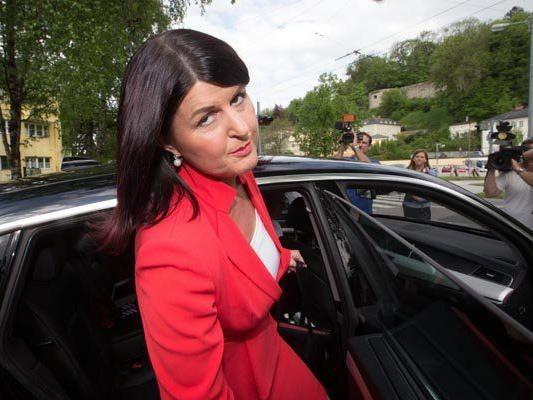 Gabi Burgstaller tritt nach der Landtagswahl in Salzburg zurück.