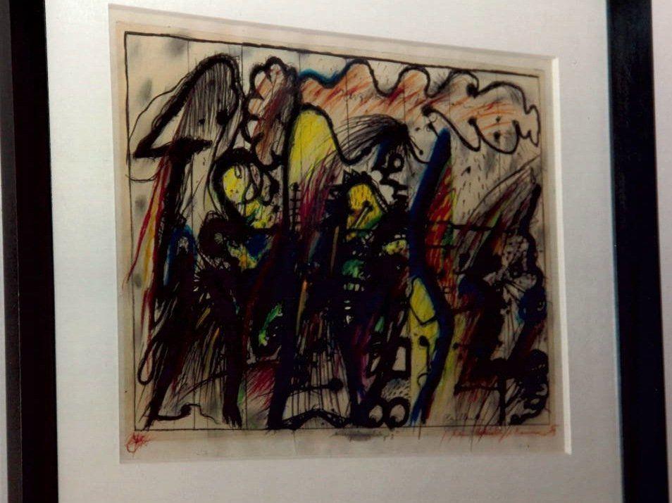 Neffentrick in Wien - Frau wurde Arnulf Rainer-Gemälde abgeluchst
