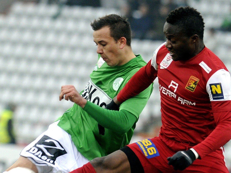 Wir berichten am Sonntag ab 16 Uhr in unserem Live-Ticker vom Spiel SV Mattersburg gegen FC Admira Wacker.