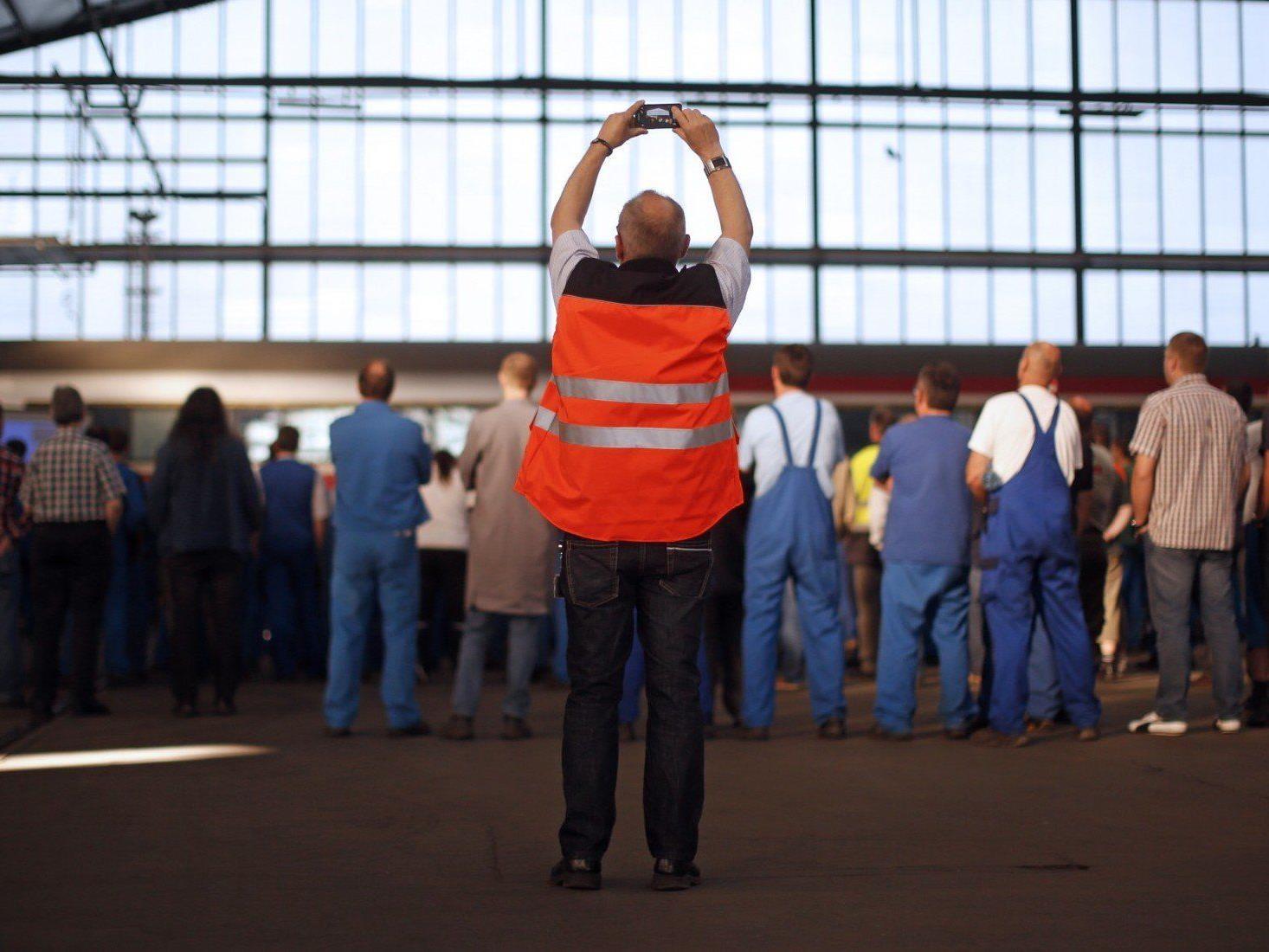 Eisenbahner-Proteste laufen ohne Eskalation ab