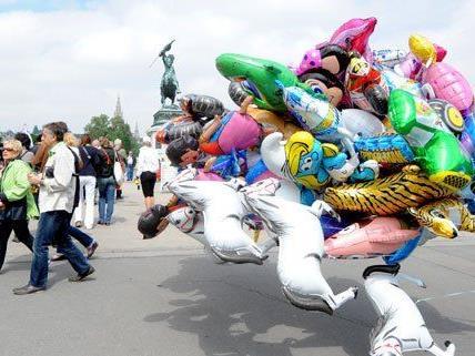 Wiener Stadtfest: Geruhsamer Startschuss mit überschaubarem Andrang
