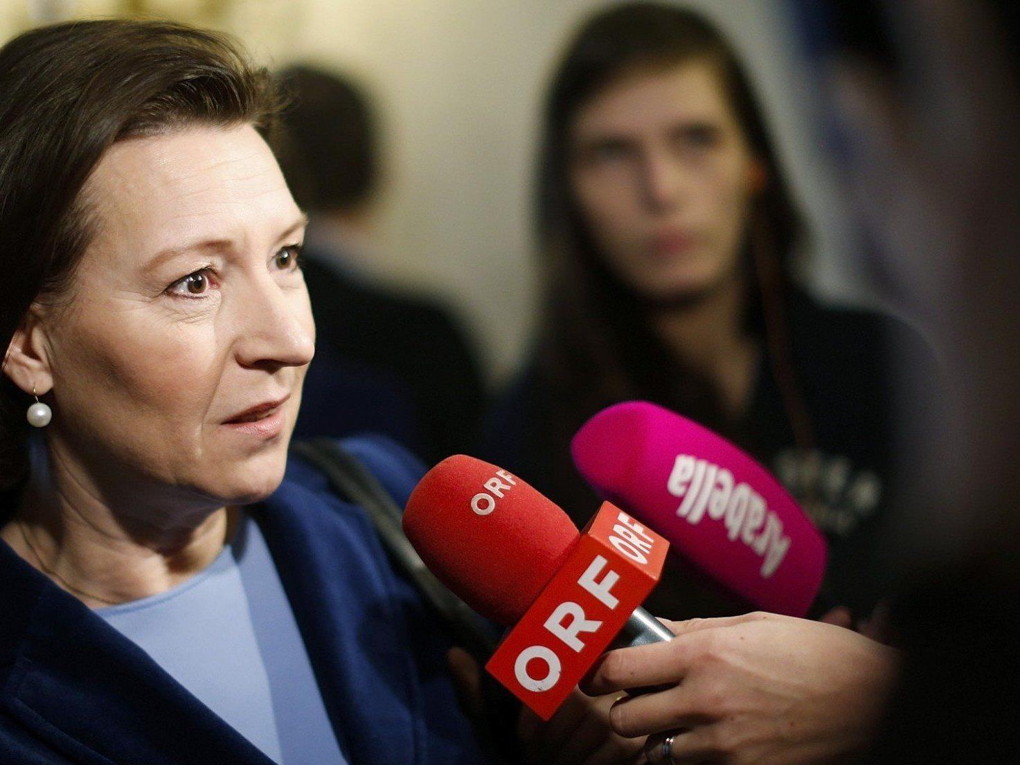 Ministerin Heinisch-Hosek steht im Imagefilm der SPÖ im Mittelpunkt.