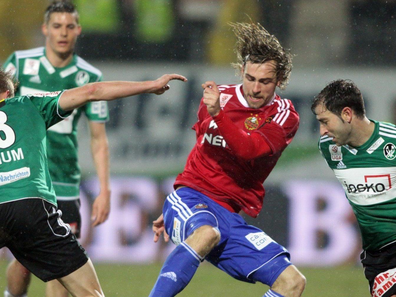 Wir berichten am Sonntag live vom Spiel SK Rapid Wien gegen SV Ried im Ticker.