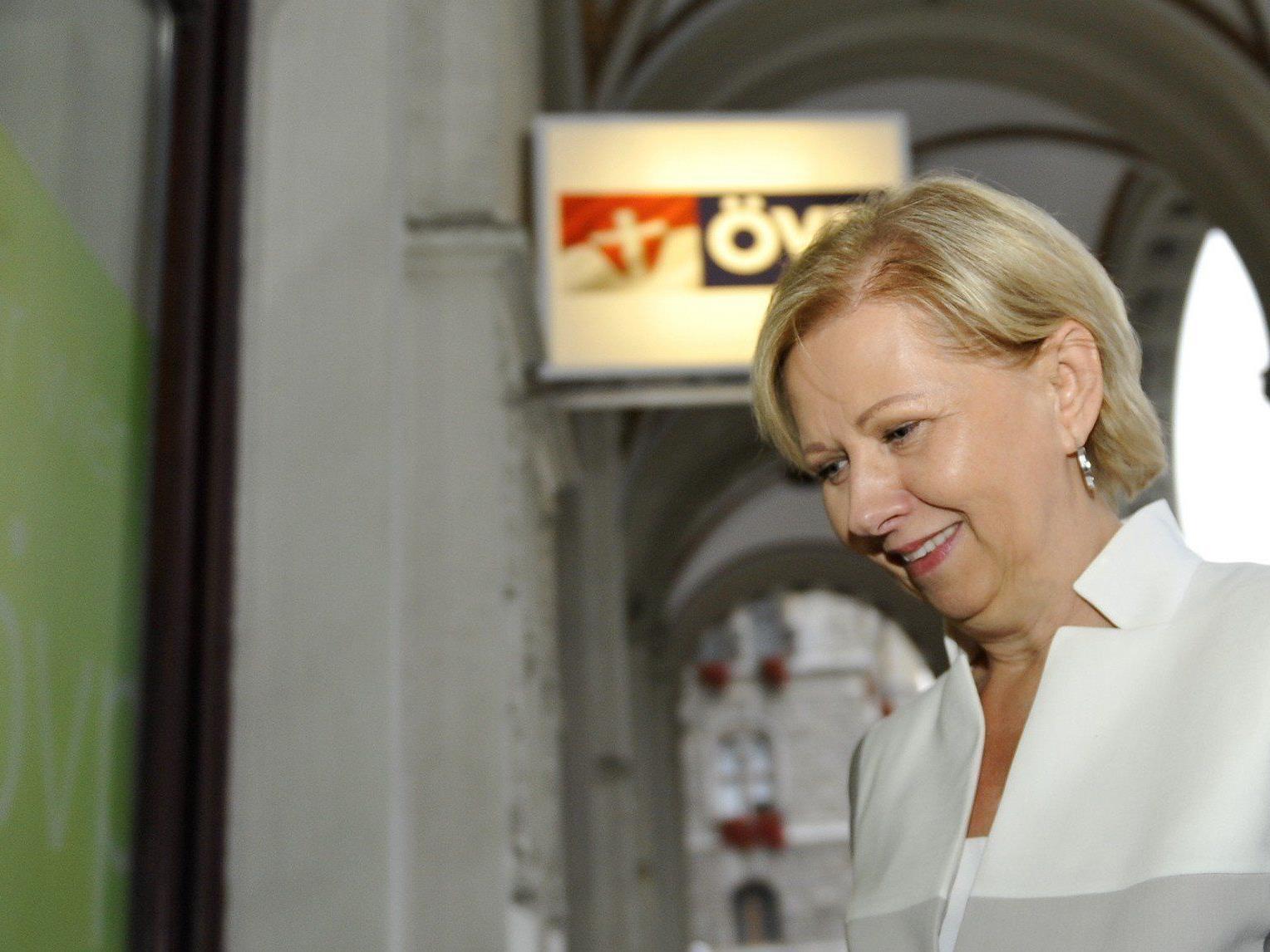 Brigitte Jank soll als Spitzenkandidatin der Wiener ÖVP zur Nationalratswahl antreten.