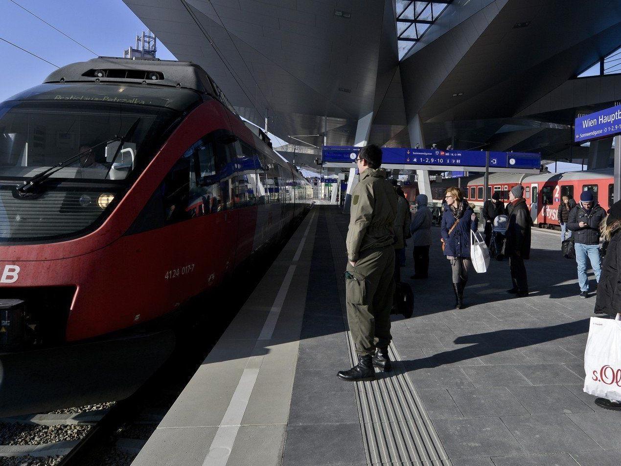 Zwei Baustellen sorgen am Wochenende für Fahrplanänderungen der Wiener S-Bahnlinien.