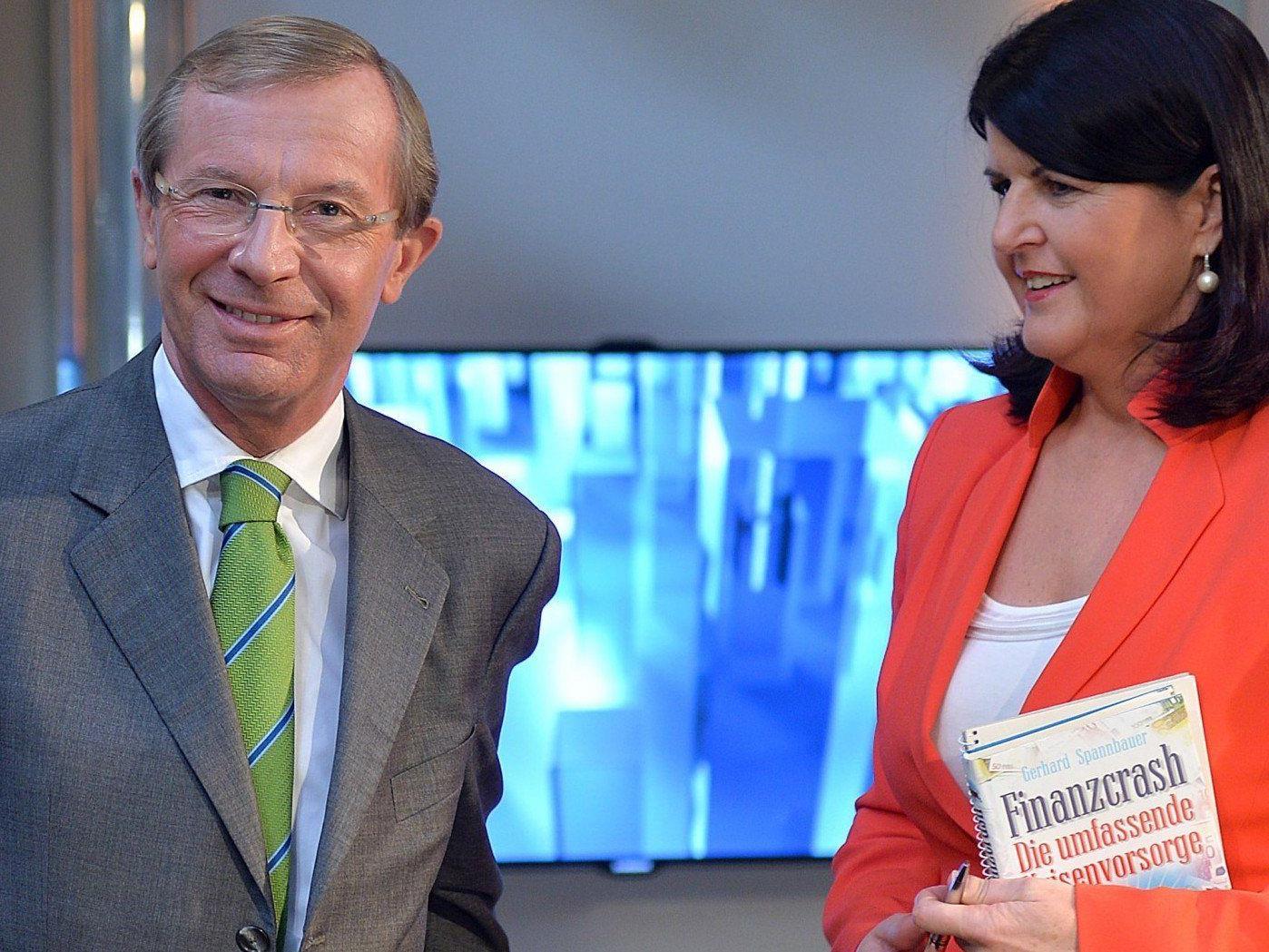 Die erste Hochrechnung zur Landtagswahl in Salzburg zeigt die ÖVP auf Platz 1.
